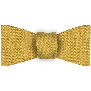 Corn Yellow Grenadine Grossa Silk Bow Tie #27