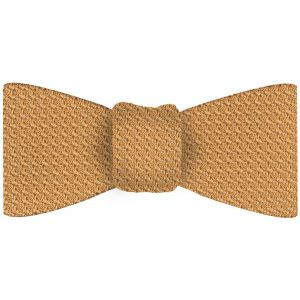 Cream Grenadine Grossa Silk Bow Tie #30