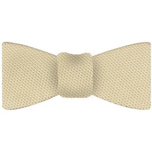 Light Yellow Grenadine Fina Silk Tie #26
