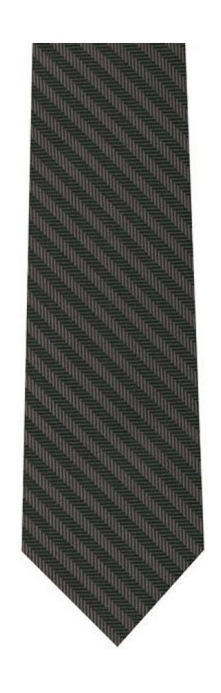 Herring Bone Silk Tie #2
