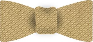 Light Yellow Piccola Grenadine Silk Bow Tie #16
