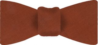 Rust Thai Shot Silk Bow Tie #79
