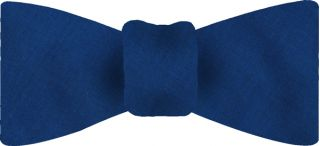 Blue Shot Thai Silk Bow Tie #39