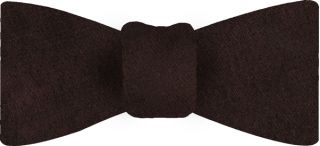 Chocolate Thai Shot Silk Bow Tie #51