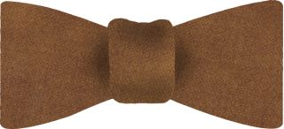 Dark Gold Thai Shot Silk Bow Tie #65