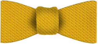 Yellow Gold Grenadine Grossa Silk Bow Tie #29