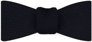 Midnight Blue Grenadine Fina Silk Tie #8