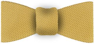 Corn Yellow Grenadine Fina Silk Tie #27