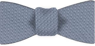 Power Blue Prometeo Grenadine Silk Bow Tie #12
