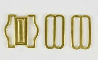 Brass clasp and slider