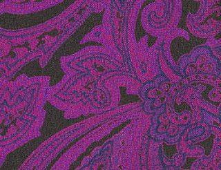 Thai Printed Silk Pocket Square #60