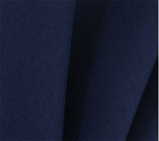 Navy Blue Solid Challis Wool Pocket Square # 5