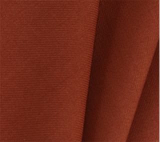 Burnt Orange Solid Challis Wool Pocket Square # 8