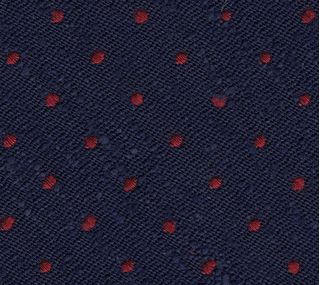 Dark Red on Midnight Blue Shantung Pin Dot Silk Bow Tie #SHPDBT-3