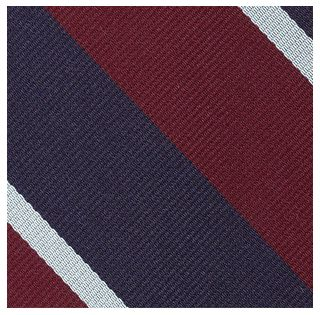 Royal Air Force Stripe Silk Pocket Square #RGP-4
