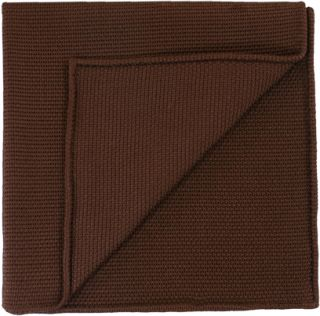 Chocolate Piccola Grenadine Silk Pocket Squares # 4