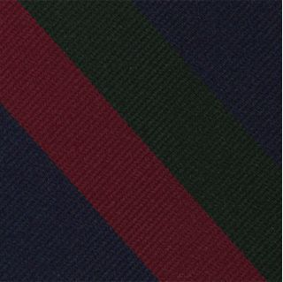 Black Watch Stripe Silk Pocket Square #RGP-27