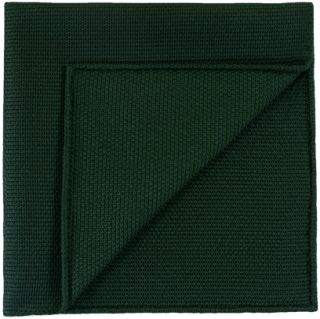 Forest Green Piccola Grenadine Silk Pocket Squares # 11
