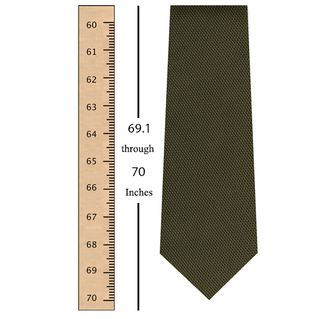 69.5 through 71.4 Inches (176.4 through 181.4 Centimeters) Tie Length -$25
