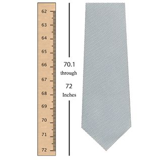 70.1 through 72 Inches (181.5 through 189 Centimeters) Tie Length