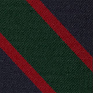 Royal Irish Fusiliers Stripe Silk Pocket Square #RGP-25