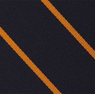 The Royal Sussex 4th Battlion Stripe Silk Pocket Square #RGP-43
