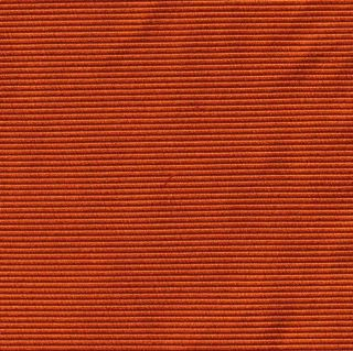 Orange Large Twill Silk Tie #4