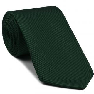 Forest Green Grosgrain Silk Tie #17