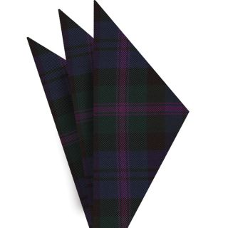 Scozzese Tartan Silk Pocket Square #TAP-3