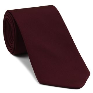 Burgundy Barathea Silk Tie #BAT-3
