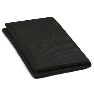 Black Oxford Silk Wallet #1
