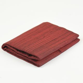 Dark Red & Black Thai Saiphone Silk Wallet