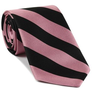 Worcester College Oxford Stripe Silk Tie #UKU-16