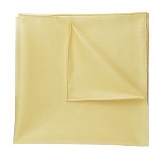 Carlo Riva - Corn Yellow Twill Cotton Pocket Square #21