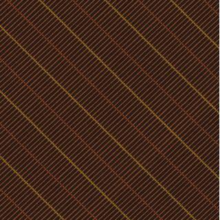 Dark Chocolate, Chocolate & Yellow Atkinsons Striped Irish Poplin Tie #AST- 54