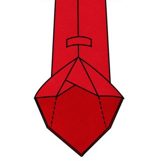 7-fold Unlined Tie Construction With Rolled Edges And No Tipping