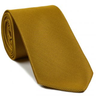 Yellow Gold Diamond Weave Silk Tie #20