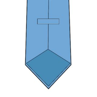 Hand Rolled Tie Edges Without Tipping