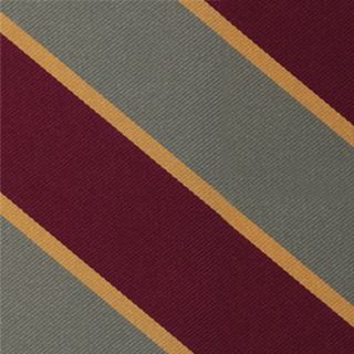 Natal Mounted Rifles Stripe Silk Pocket Square #RGP-12