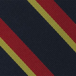 Lothian and Border Horse Stripe Silk Pocket Square #RGP-13