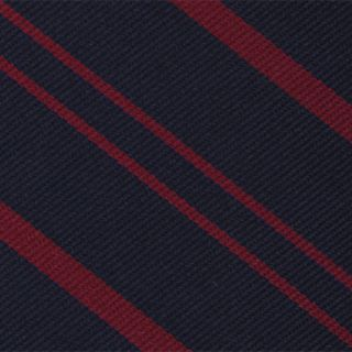 Royal Military Police Stripe Silk Pocket Square #RGP-17