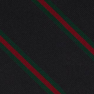 12th London Regiment Stripe Silk Pocket Square #RGP-23