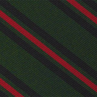 Gurkha Brigade Stripe Silk Pocket Square #RGP-24
