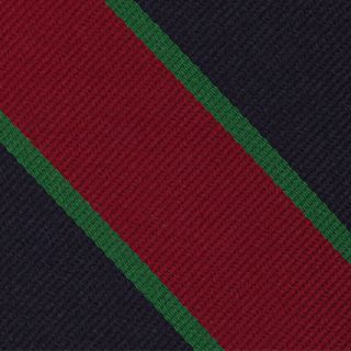 Royal Dublin Fusiliers Stripe Silk Pocket Square #RGP-26