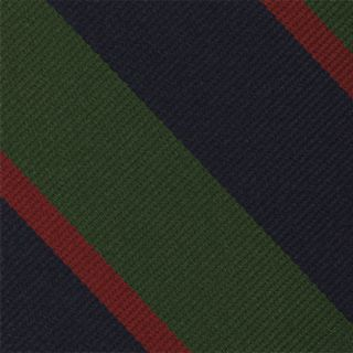 Royal Army Dental Corps Stripe Silk Pocket Square #RGP-29