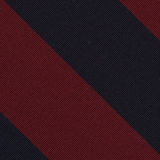 Royal Fusiliers Stripe Silk Pocket Square #RGP-3