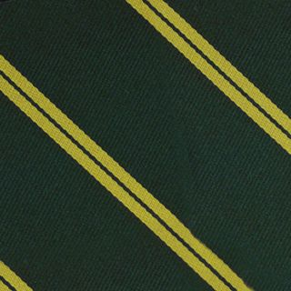 Nottinghamshire Yeomanry Stripe Silk Pocket Square #RGP-31