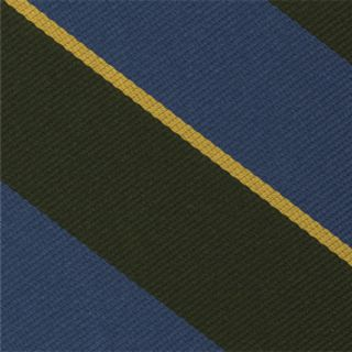Burma Rifles Stripe Silk Pocket Square #RGP-33