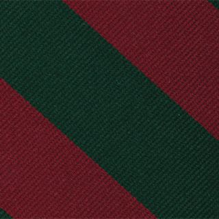 5th Dragoon Guards Stripe Silk Pocket Square #RGP-41