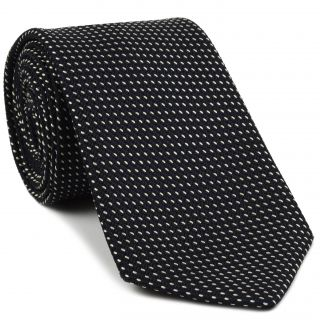 Grenadine Pin Dot Silk Tie #1